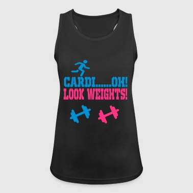 cardio look weights - Women's Breathable Tank Top