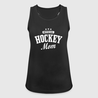 Hockey mom / hockey mother - Tank top damski oddychający