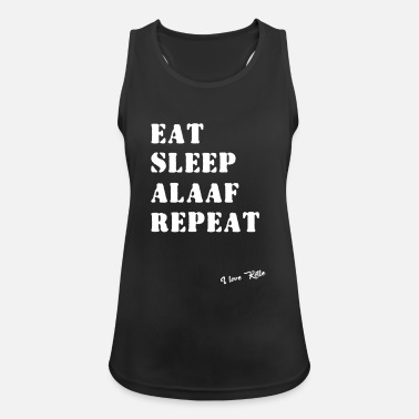 Alaaf Eat Sleep Alaaf Repeat - Köln Kölle Karneval Shirt - Frauen Sport Tanktop