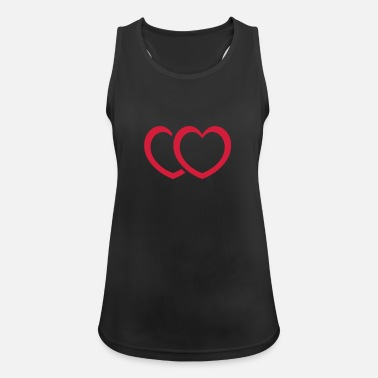 Print Two Hearts Two Hearts - Women's Sport Tank Top