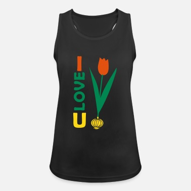 Marriage I love u, onion and tulip, marriage love - Women's Breathable Tank Top
