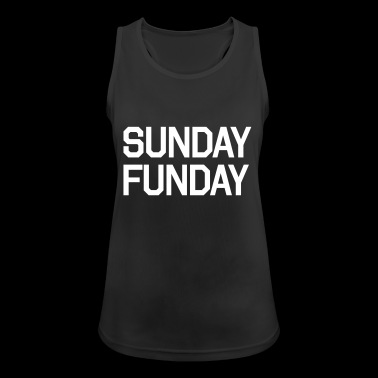 SUNDAY FUNDAY - Women's Breathable Tank Top