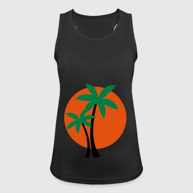 2541614 133469147 palm tree - Women's Breathable Tank Top