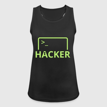 Hacker Internet Informatique pirater informatique - Débardeur respirant Femme