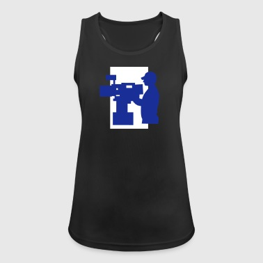 TV Man - Women's Breathable Tank Top