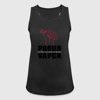 Proud Vaper - My Rules - Women's Breathable Tank Top