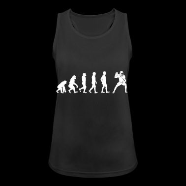 The Evolution Of American Football Player - Women's Breathable Tank Top