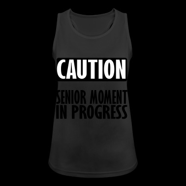 caution - Women's Breathable Tank Top