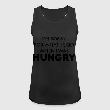 hungry - Women's Breathable Tank Top