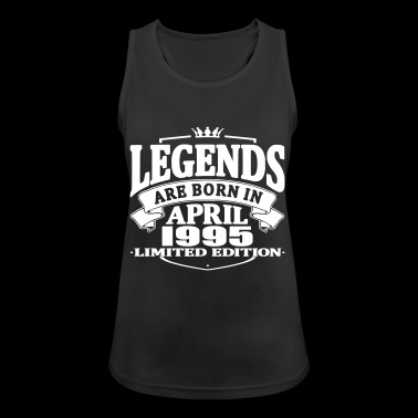 Legends are born in april 1995 - Women's Breathable Tank Top