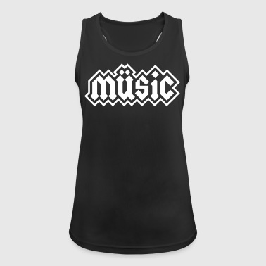 Heavy Metal Music - Women's Breathable Tank Top
