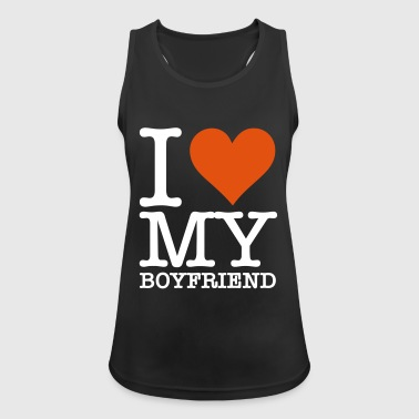 I Love My Boyfriend! - Women's Breathable Tank Top