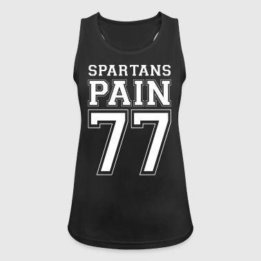 Spartans numbers - Women's Breathable Tank Top