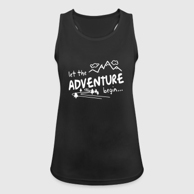 Let the Adventure begin - Women's Breathable Tank Top