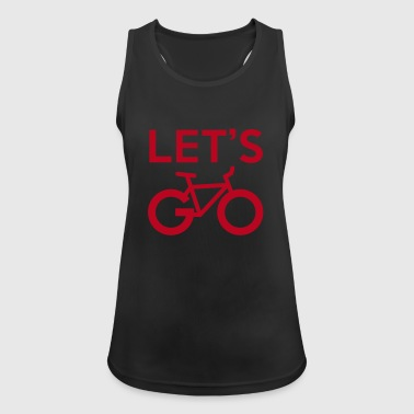 Let's go! - Women's Breathable Tank Top