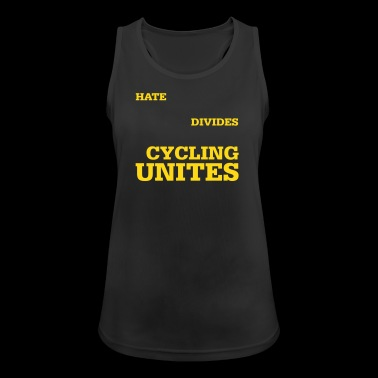 Cycling unites - Women's Breathable Tank Top