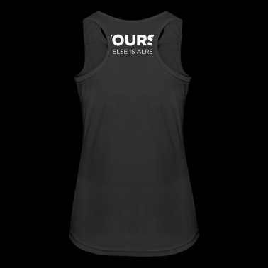 Be yourself - Women's Breathable Tank Top