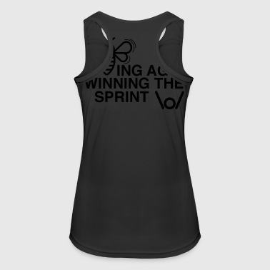 BEING AGILE WINNING THE SPRINT - Women's Breathable Tank Top