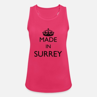 Surrey Personalise: Made In Surrey - Women's Sport Tank Top