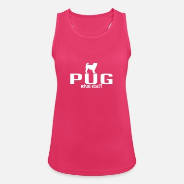 PUG whatelse - Vrouwen sport tank top