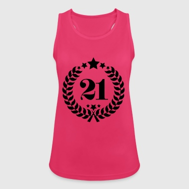 21st Birthday Wreath - Anniversary Wreath - Women's Breathable Tank Top