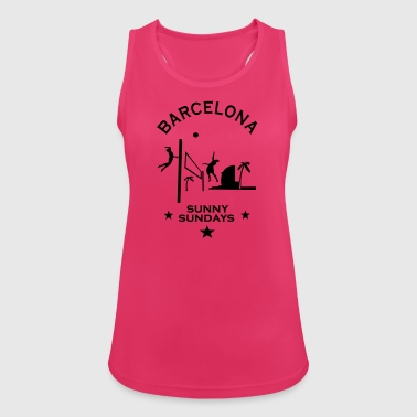 BEACH VOLLEY BARCELONA - Tank top damski oddychający