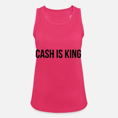 Cash Cash is King - Vrouwen tanktop ademend