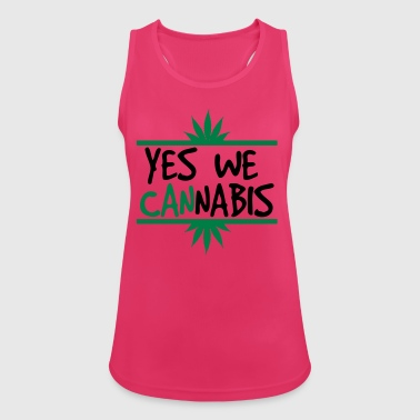 cannabis - Women's Breathable Tank Top