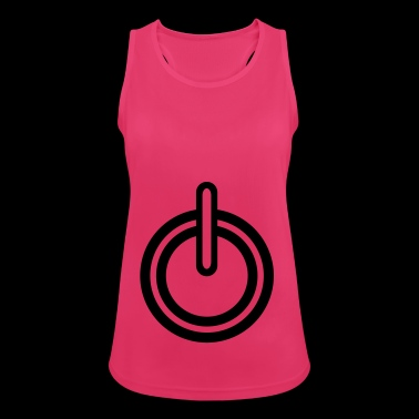 Power electricity icon - Women's Breathable Tank Top