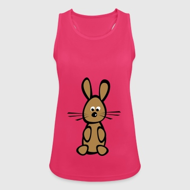 2541614 14765536 bunny - Women's Breathable Tank Top