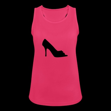 Vector highheels Silhouette - Women's Breathable Tank Top