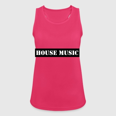 house music - Women's Breathable Tank Top