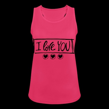 LOVE YOU - Women's Breathable Tank Top