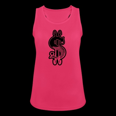 dollar sign - Women's Breathable Tank Top