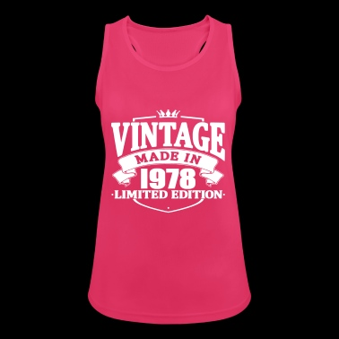 Vintage made in 1978 - Women's Breathable Tank Top