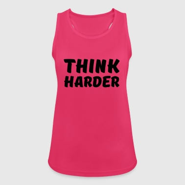 Think harder - Women's Breathable Tank Top
