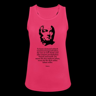 Seneca: No one can be ethically responsible - Women's Breathable Tank Top
