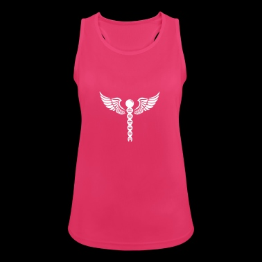 DNA Caduceus - Women's Breathable Tank Top