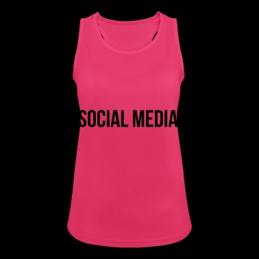 Social media - Women's Breathable Tank Top