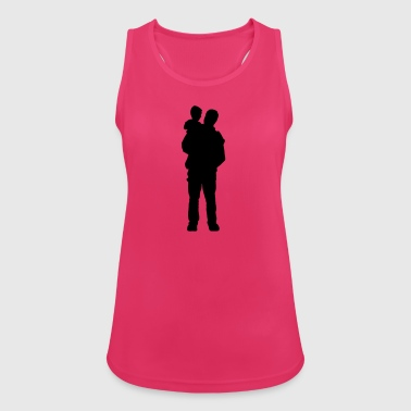 father and son - Women's Breathable Tank Top