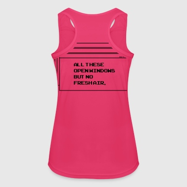 All thesis open windows - Women's Breathable Tank Top