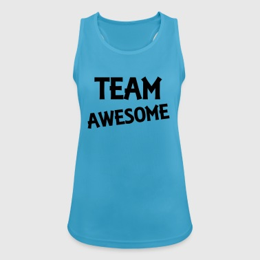 Team Awesome - Women's Breathable Tank Top