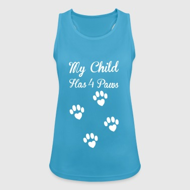 Paws - Women's Breathable Tank Top