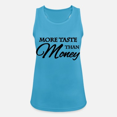 Taste More taste than money - Vrouwen tanktop ademend