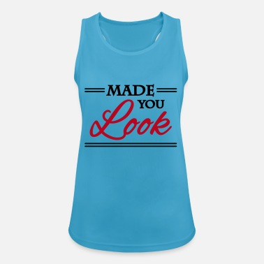 Made you look - Débardeur sport Femme