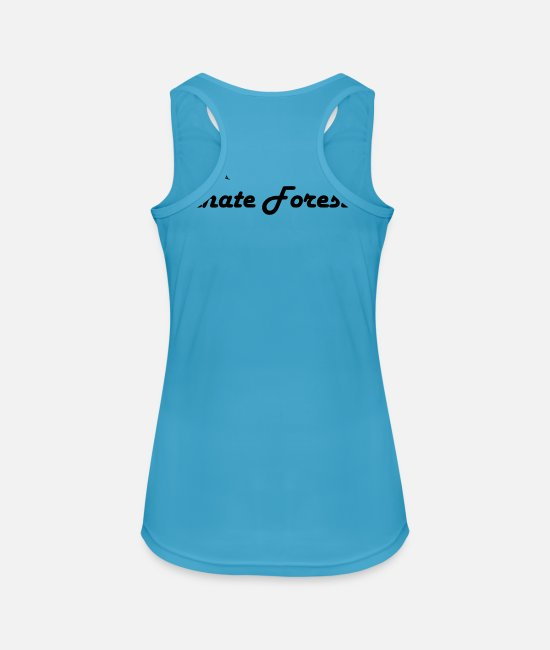 Red Deer Tank Tops - Palatinate red deer - Women's Sport Tank Top sapphire blue