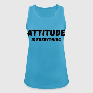 Attitude is everything - Women's Breathable Tank Top