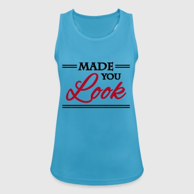 Made you look - Pustende singlet for kvinner