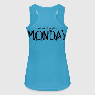 Monday horror story - Women's Breathable Tank Top