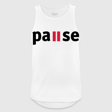 Pause - Men's Breathable Tank Top